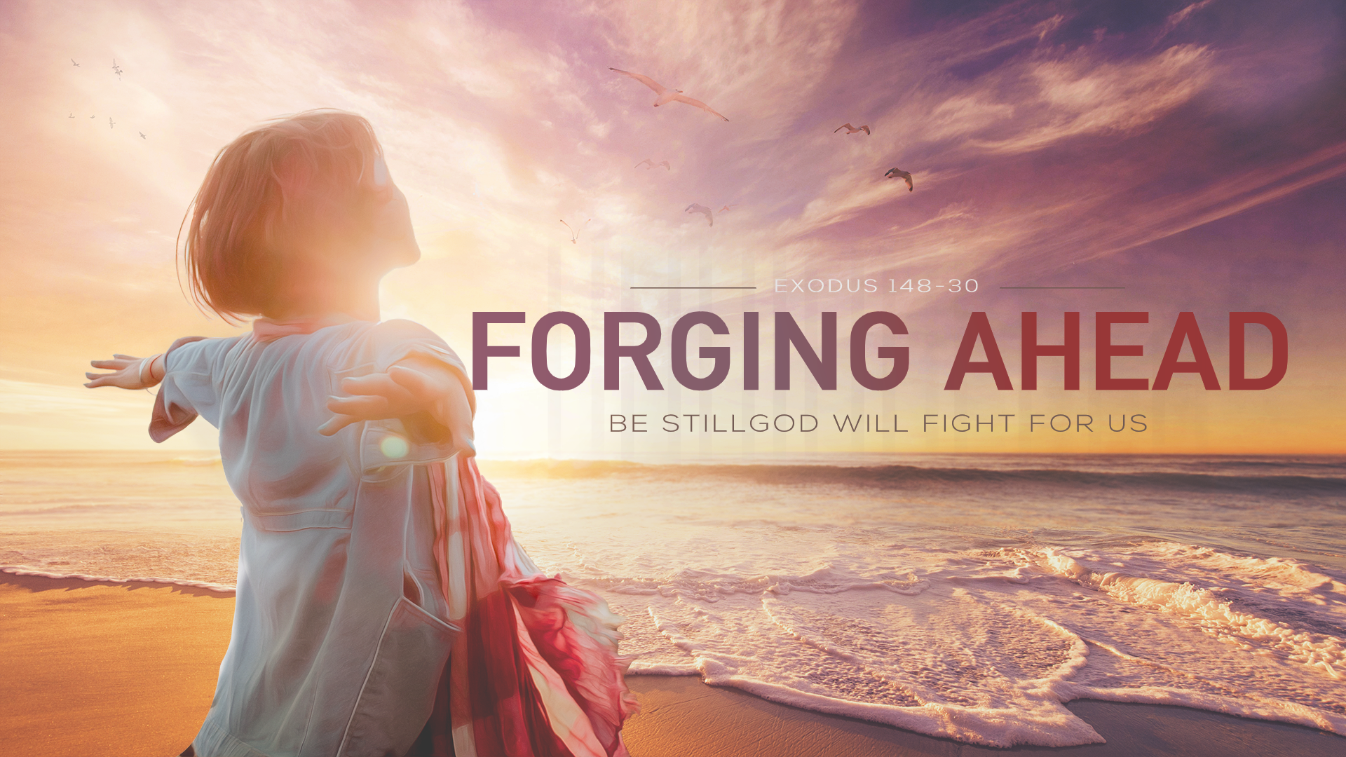 Forging Ahead Graphic